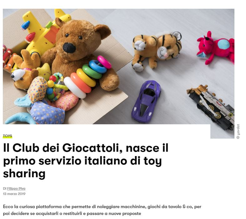 Toy Sharing su GQ